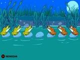 Flash игра Лягушки