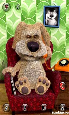 Flash игра Говорящая собака Бэн скриншот 2