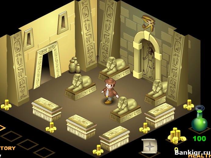 Игра Сокровища фараона онлайн. Играть бесплатно.
