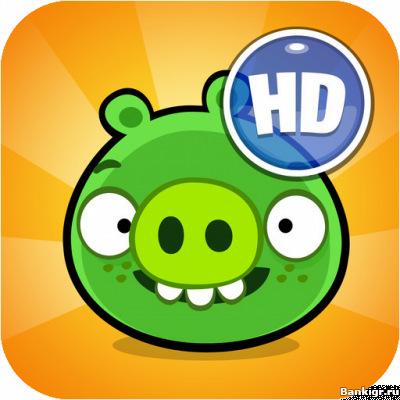 Flash игра Bad Piggies HD скриншот 1