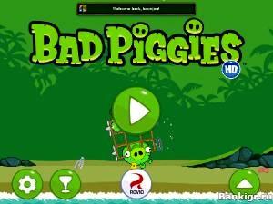 Flash игра Bad Piggies HD скриншот 2