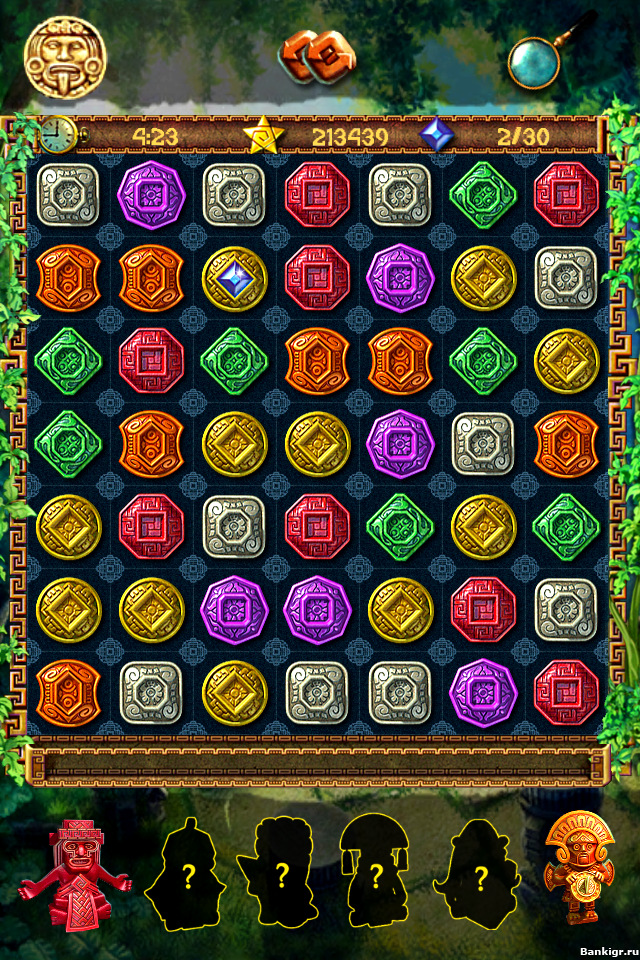 Flash игра The Treasures of Montezuma / Сокровища Монтесумы 1.5 скриншот 2