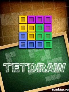 Flash игра TetDraw скриншот 1