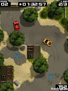 Flash игра Extream Rally скриншот 1