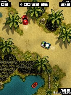 Flash игра Extream Rally скриншот 2