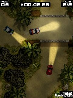Flash игра Extream Rally скриншот 3
