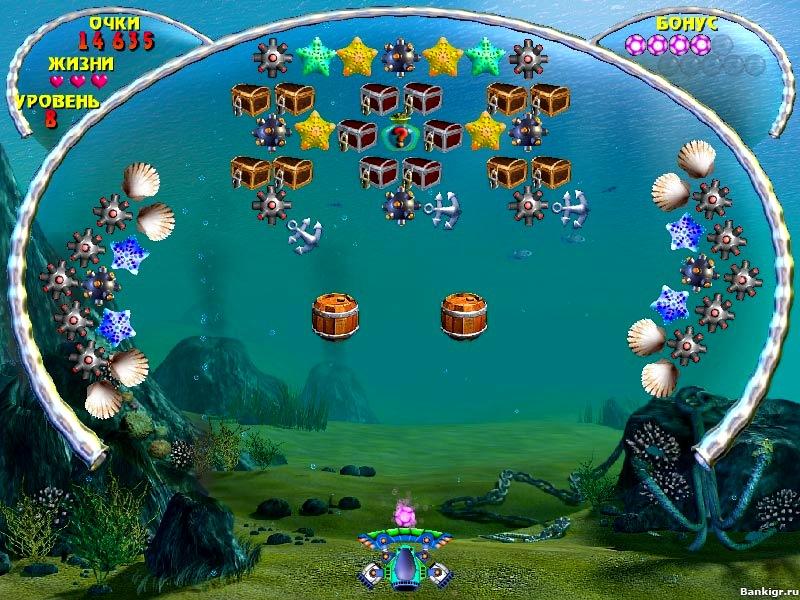 Flash игра Аквабол скриншот 3
