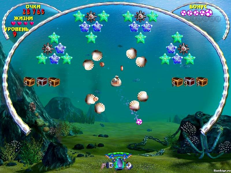 Flash игра Аквабол скриншот 4
