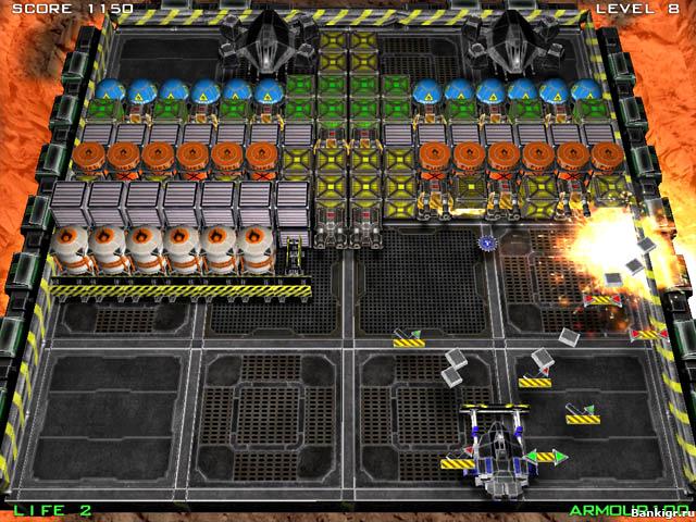 Flash игра Пилобластер скриншот 2