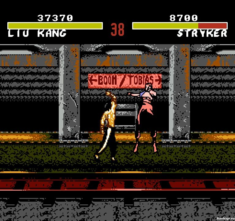 Flash игра Mortal Kombat 4 скриншот 2