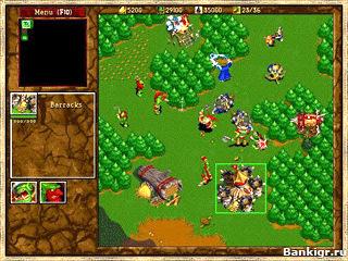 Flash игра Варкрафт 2 (Warcraft 2) скриншот 2