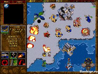 Flash игра Варкрафт 2 (Warcraft 2) скриншот 4